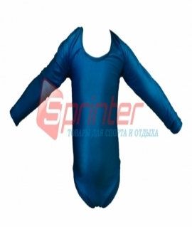 Купальник гимнастический голубой. Размер: XL (2014)