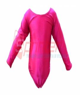 Купальник гимнастический розовый. Размер: S  (2014)