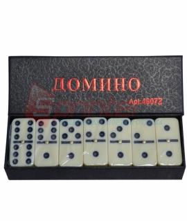 Домино в картонной коробке.4807