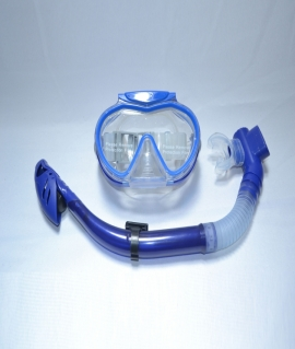 Набор для плавания взрослый: маска + трубка.SG3