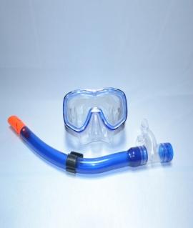 Набор для плавания детский: маска + трубка. 25329