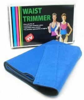 Пояс для похудения в коробке (20х100 см) из неопрена, синий. O17