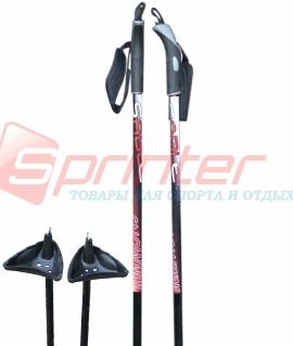Лыжные палки STC из стеклопластика 155 см.