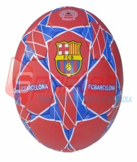 """Мяч футбольный """"FC Barcelona"""" из кожзаменителя.  6657"""