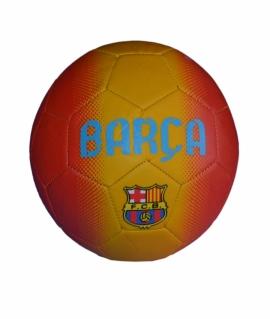 """Мяч футбольный """"Barcelona"""" из кожзаменитель-матовый, красный с жёлтым. FT9-18"""
