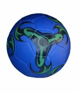 Мяч футбольный из кожзаменителя, синий.  FT9-22