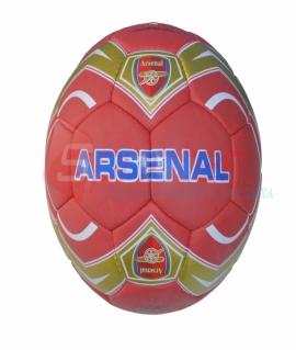 """Мяч футбольный """"Arsenal"""" из прессованной кожи. 1010"""
