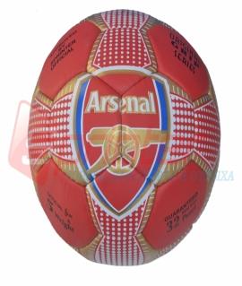 """Мяч футбольный """"Arsenal"""" из прессованной кожи. 1009"""