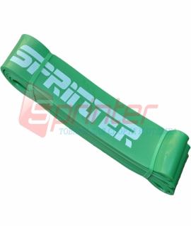 Резиновая петля. Сопротивление 19-65 кг. 206*4,6*0,4 см. Материал: Латекс. Зелёная. 19-65кг.