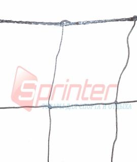 Сетка для футбола с ячейкой 14х14 см и нитью 2 мм. SD-818