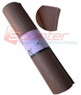 Коврик 8мм.цвет:коричневый