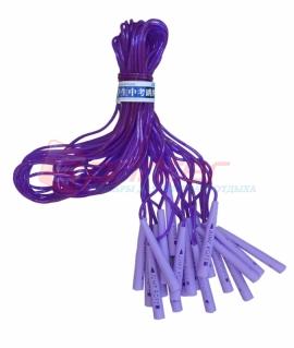 Скакалка с силиконовым шнуром  упаковка 10шт..QJ-3450