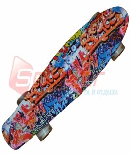 Скейт Penny-пластиковый. S2046-10