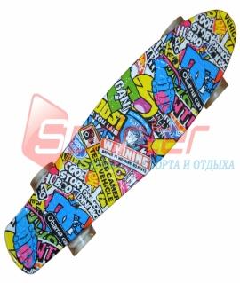 Скейт Penny-пластиковый. S2046-12