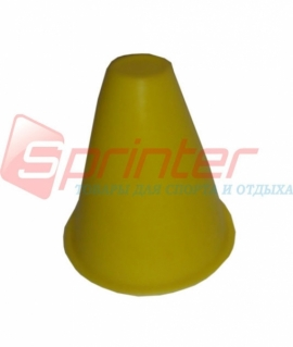 Желтая фишка для роллеров - 9 см F-8
