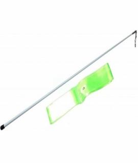 Лента гимнастическая зелёная- 6 м