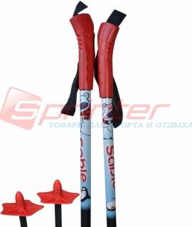 Лыжные палки STC из стеклопластика 90 см.