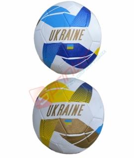"""Мяч футбольный """"Украина"""" из кожзаменителя. FT-E30"""