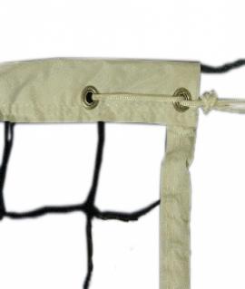 Сетка волейбольная 1*9,5 м. Размер ячейки: 10*10 см. Обшитый верх (5 см). 4005