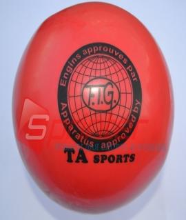 """Мяч для художественной гимнастики """"TA sport T-11"""" - 15 см. Красный"""