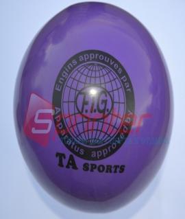 """Мяч для художественной гимнастики """"TA sport T-11"""" - 15 см. Фиолетовый"""