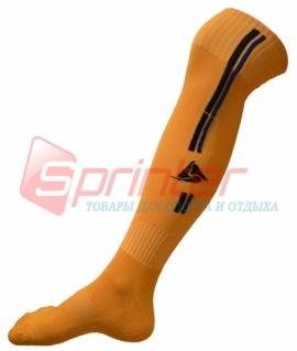 Гетры футбольные взрослые оранжевые. RD-5