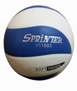 """Волейбольный мяч """"Sprinter"""" клееный VS-1003 (Сине-белый)"""