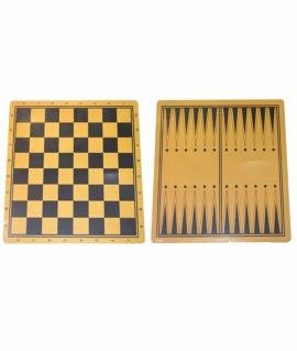 Доска ламинированная для шахмат и шашек - 44х44 см. Q44х44