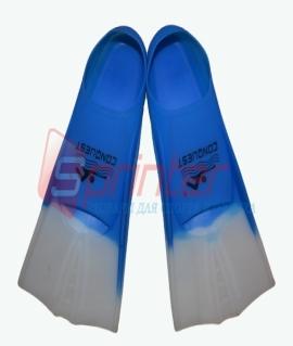 Ласты для бассейна синие. Размер: 36-38.2737