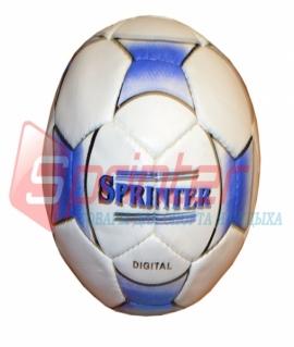 """Мяч футбольный """"Sprinter Digital"""" из прессованной кожи. 12015 (63)"""