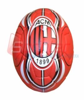 """Мяч футбольный """"AC Milan"""" из прессованной кожи. 11"""