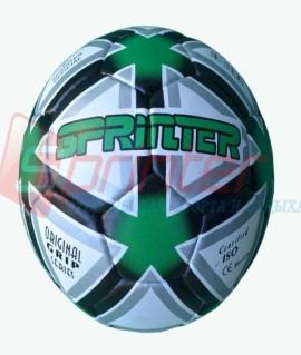 """Мяч футбольный """"Sprinter Green Line"""" из прессованной кожи. 6527"""