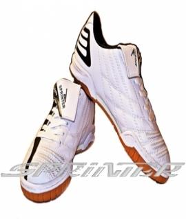 """Бутсы для зала """"Sprinter"""" из PVC и резины, белые. AX7207"""