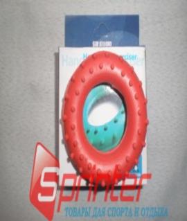 Эспандер кистевой кольцо с шипами из резины - 30 кг