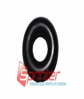 Эспандер большой кистевой резиновый, чёрный. Диаметр: 9,5 см. Украина