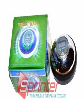 Тренажёр кистевой POWER BALL -  металлический с дисплеем. ААМ