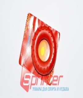 """Эспандер кистевой """"Кольцо"""" из резины - 50 кг. Красный. Brawn 50"""
