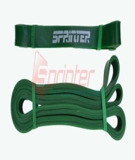 Резиновая петля. Сопротивление 16-39 кг 210*2*0,8 см. Материал: Латекс. Зелёная. 2,08