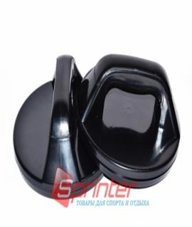 Упоры для отжиманий (чёрный) круглые. Диаметр: 19,5 см. 1117