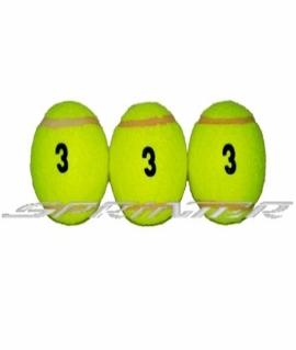 """Мячи для б/т (3 шт. в пакете) 3 сорт. """"Tiger"""""""