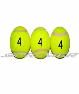 Мячи для б/т (3 шт. в пакете) 4 сорт