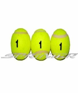 Мячи для б/т (3 шт. в пакете) 1 сорт