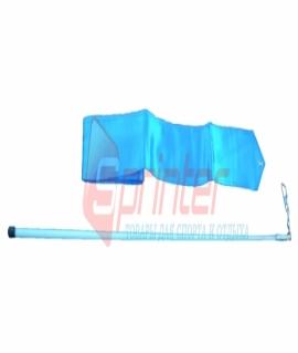 Лента гимнастическая голубая - 6 м