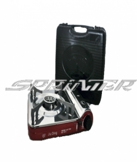 Плита газовая в кейсе,красная - 2200 W (160г/час). 155C