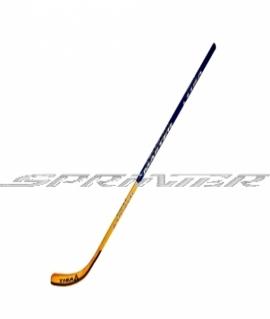 Хоккейная клюшка взрослая TISA MASTER с L загибом. Длина 148 см