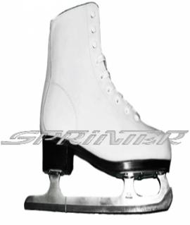 Женские фигурные коньки. Размер: 37 PW-215 (Белый)