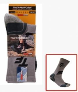 Сезонные носки. Цвет: Серый с чёрным. Размеры: 35/38.  21