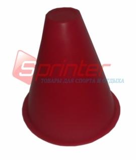 Красная фишка для роллеров с высотою 9 см