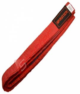 Пояс для карате из хлопка - 270 см. Красный