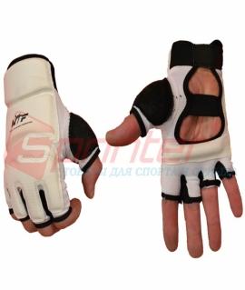 Перчатки для таэквандо из PU - XL. Белые